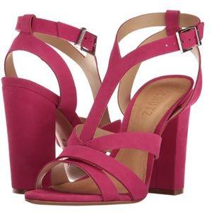 Brand New In Box SCHUTZ Veggy Block Heel Sandal